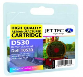 Remanufactured Colour Ink Cartridge Dell T0530 (D530)